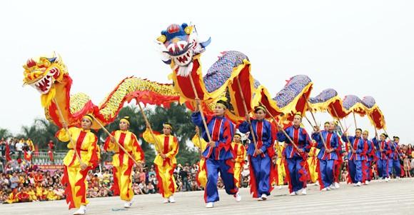 Mãn nhãn với Lễ hội múa rồng Hà Nội 2012 ảnh 3