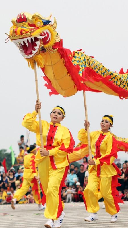 Mãn nhãn với Lễ hội múa rồng Hà Nội 2012 ảnh 4
