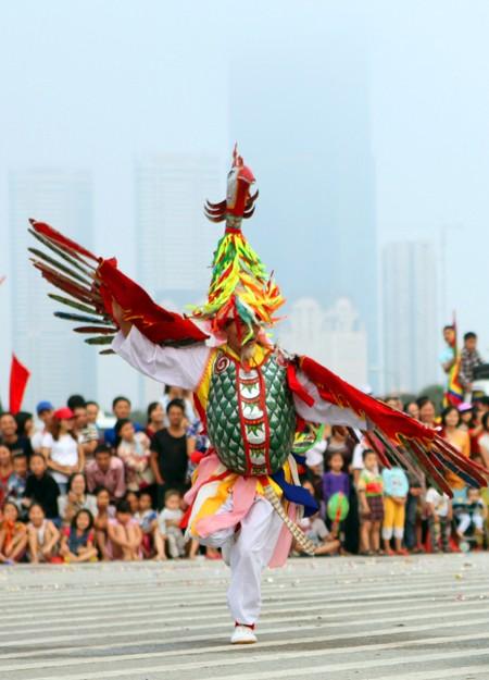 Mãn nhãn với Lễ hội múa rồng Hà Nội 2012 ảnh 22