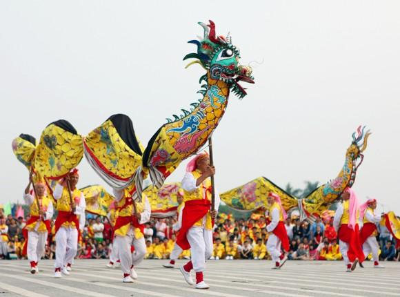 Mãn nhãn với Lễ hội múa rồng Hà Nội 2012 ảnh 21