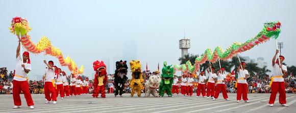 Mãn nhãn với Lễ hội múa rồng Hà Nội 2012 ảnh 10
