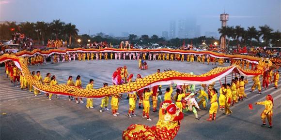 Mãn nhãn với Lễ hội múa rồng Hà Nội 2012 ảnh 24