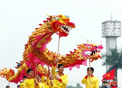Mãn nhãn với Lễ hội múa rồng Hà Nội 2012 ảnh 6