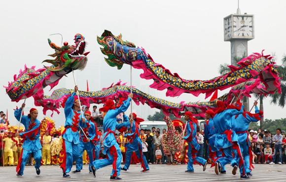 Mãn nhãn với Lễ hội múa rồng Hà Nội 2012 ảnh 13