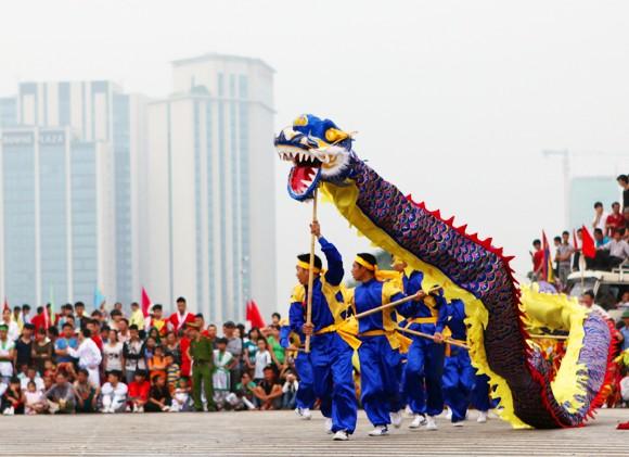 Mãn nhãn với Lễ hội múa rồng Hà Nội 2012 ảnh 8