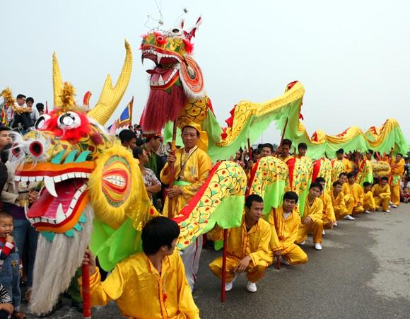 Mãn nhãn với Lễ hội múa rồng Hà Nội 2012 ảnh 2