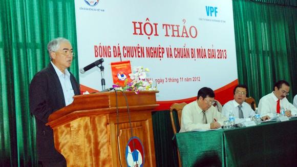 """Phó chủ tịch VFF Lê Hùng Dũng: """"Nếu vỡ giải, ai chịu trách nhiệm?"""" ảnh 1"""