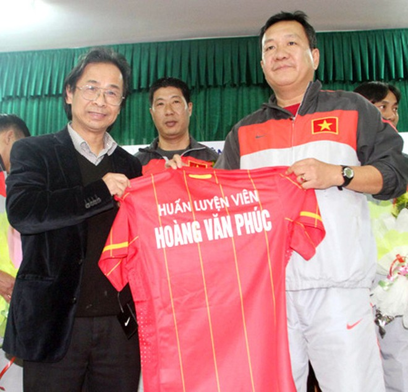 VFF mời HLV Hoàng Văn Phúc dẫn U23 VN dự SEA Games ảnh 1