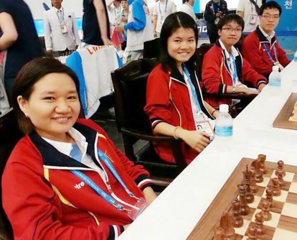 AIMAG 2013: Giành thêm 4HCV, đoàn Việt Nam cán đích thứ 3 toàn đoàn ảnh 1