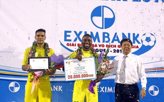 Vua phá lưới V-League 2013 được đổi tên thành Hà Nội Sơn ảnh 1