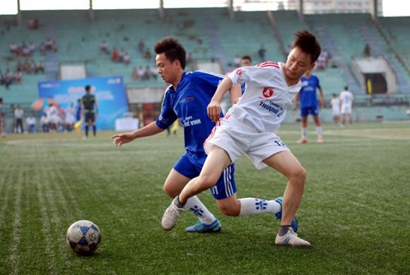 16 đội giành quyền vào vòng 2 giải bóng đá học sinh Hà Nội 2013 ảnh 8