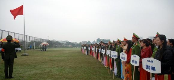 Khai mạc giải bóng đá CATP Hà Nội 2013 ảnh 1