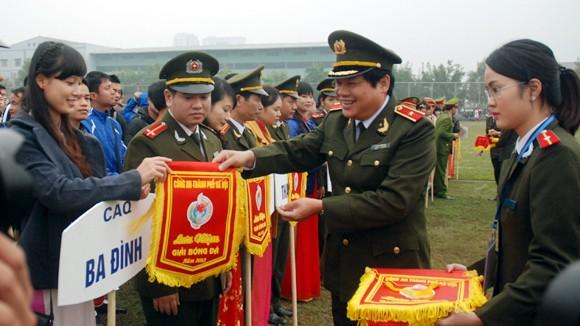 Khai mạc giải bóng đá CATP Hà Nội 2013 ảnh 2
