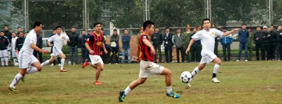 Khai mạc giải bóng đá CATP Hà Nội 2013 ảnh 3