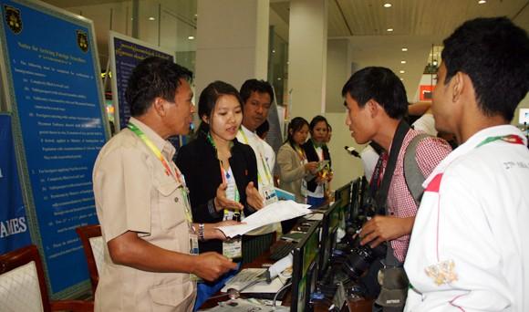 Không khí SEA Games hâm nóng Yangon ảnh 5
