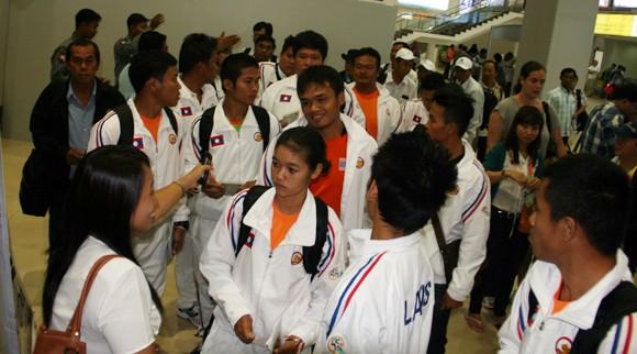 Không khí SEA Games hâm nóng Yangon ảnh 2