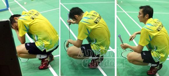 Tiến Minh khóc nức nở sau trận thua cay đắng ảnh 4