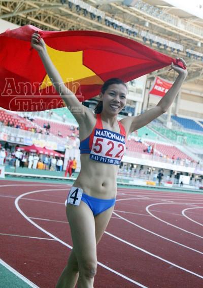 Vũ Thị Hương trở lại thống trị đường chạy 100m nữ Đông Nam Á ảnh 2