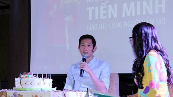 Tiến Minh bất ngờ với món quà đặc biệt trong ngày sinh nhật ảnh 2