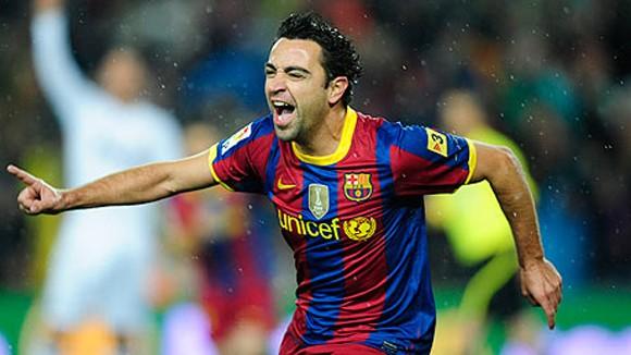 Cùng Barca đả bại Man City, Xavi đi vào lịch sử ảnh 1