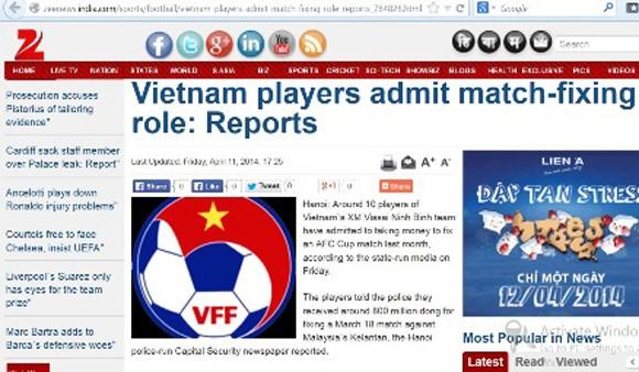 Vụ nhận tiền làm độ của V.Ninh Bình kinh động tới AFC ảnh 1