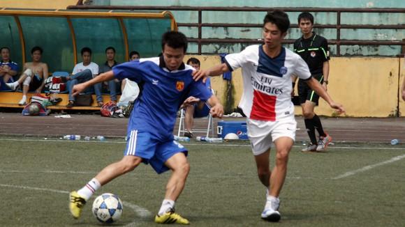 Hấp dẫn giải bóng đá Công đoàn CATP Hà Nội 2014 ảnh 3
