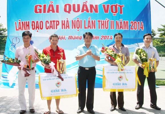 Dư âm đẹp giải Quần vợt Lãnh đạo CATP Hà Nội 2014 ảnh 3