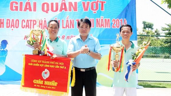 Dư âm đẹp giải Quần vợt Lãnh đạo CATP Hà Nội 2014 ảnh 1