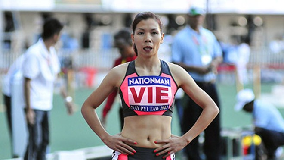 Vũ Thị Hương tranh huy chương 200m nữ ASIAD 2014 ảnh 1