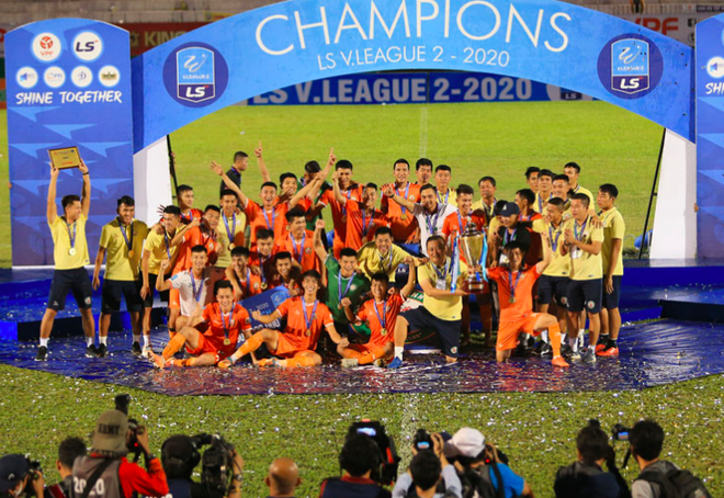 Tân binh Bình Định gây chú ý vòng khai màn V-League 2021 ảnh 1