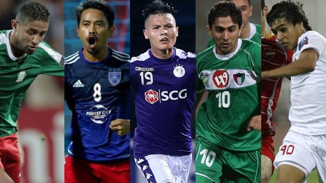 """Quang Hải áp đảo ở bầu chọn """"Tiền vệ hay nhất lịch sử AFC Cup"""" ảnh 1"""