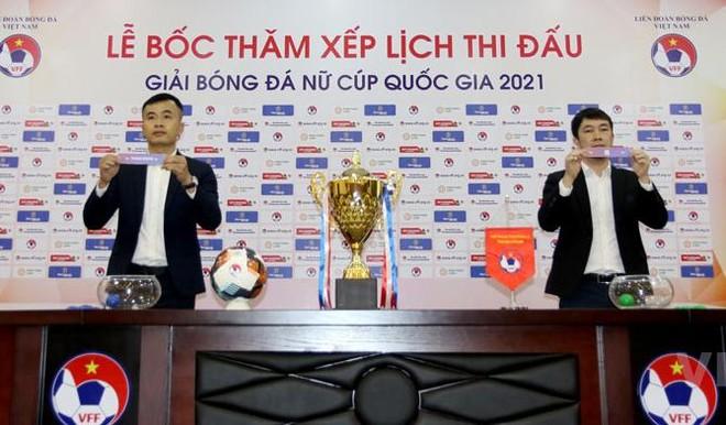 7 CLB tranh 100 triệu đồng vô địch bóng đá nữ Cúp Quốc gia 2021 ảnh 1