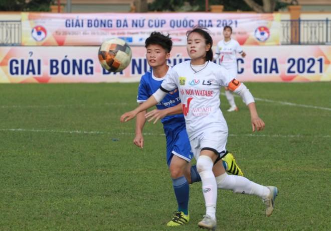 Cúp quốc gia nữ 2021 khai màn hấp dẫn ảnh 1