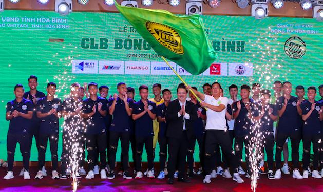 Hoà Bình FC ra mắt giải hạng Nhì quốc gia ảnh 1