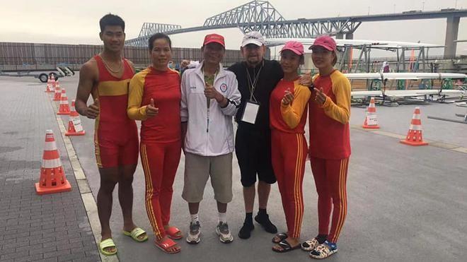 Hai tay chèo nữ Việt Nam giành vé dự Olympic Tokyo ảnh 1