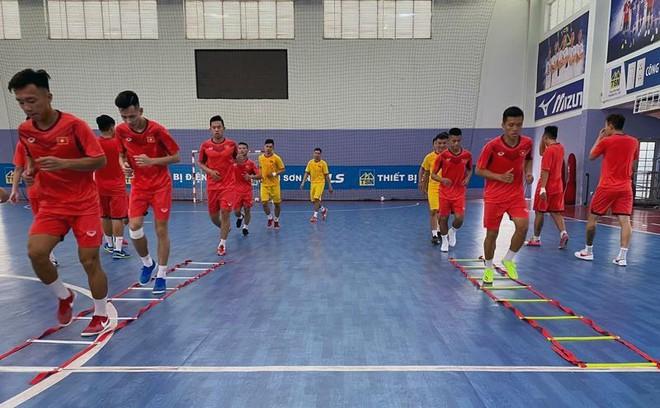 Futsal Việt Nam giao hữu với Iraq trước khi tranh vé World Cup ảnh 1