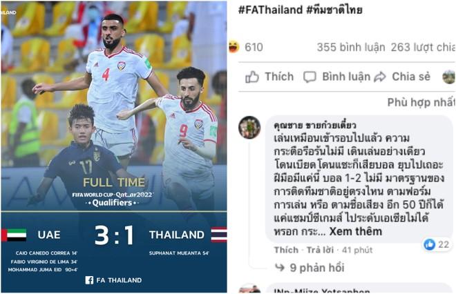 """CĐV Thái Lan: """"Đá thế này 50 năm tới vẫn chỉ quanh quẩn 'ao làng' SEA Games"""" ảnh 1"""
