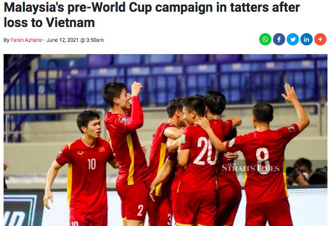 """Báo Malaysia: """"Thua Việt Nam, chiến dịch World Cup tan tành"""" ảnh 1"""