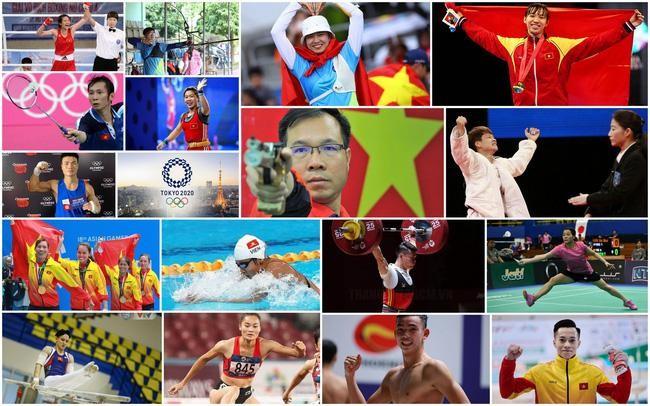 Ánh Nguyệt trẻ nhất, Tiến Minh kỳ cựu nhất đoàn Việt Nam dự Olympic Tokyo ảnh 1