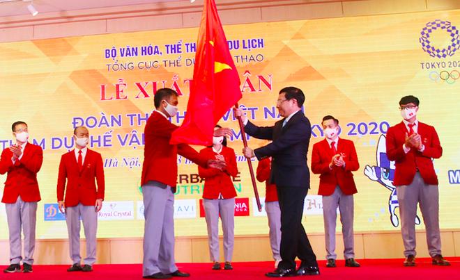 Đoàn Việt Nam xuất quân, phấn đấu huy chương Olympic Tokyo ảnh 1