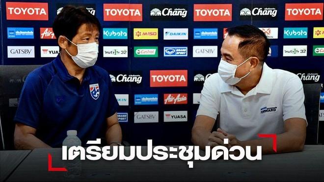 Vừa vào khu cách ly, HLV Thái Lan đã bị truy tội ảnh 1
