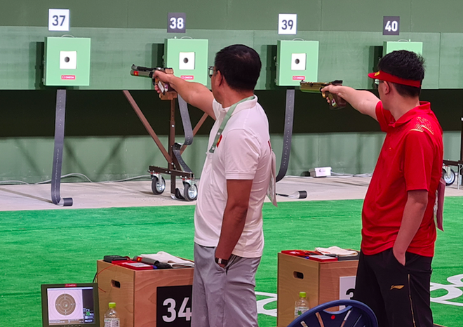 Xạ thủ Hoàng Xuân Vinh bị loại khỏi Olympic Tokyo ảnh 1