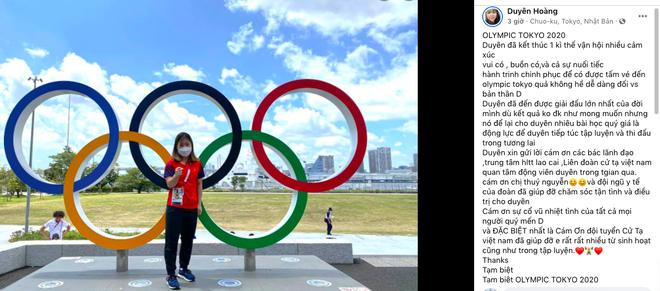Hoàng Thị Duyên lần đầu lên tiếng sau thất bại ở Olympic ảnh 1