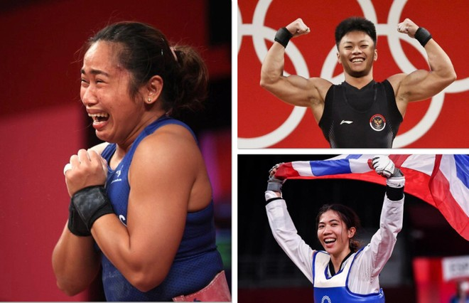 VĐV Thái Lan, Philippines, Indonesia... 'bơi' trong tiền thưởng ảnh 1