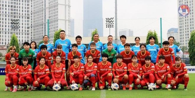 Đối thủ bỏ cuộc, tuyển nữ Việt Nam thêm lợi thế ở giải châu Á ảnh 1