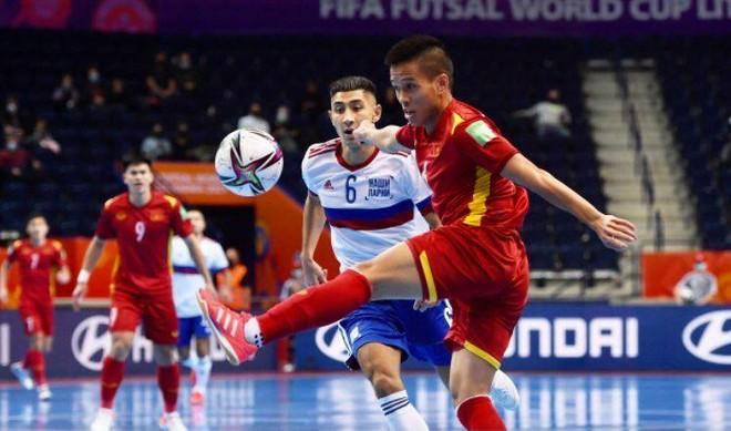 FIFA ngạc nhiên với pha ghi bàn và màn trình diễn của futsal Việt Nam ảnh 1