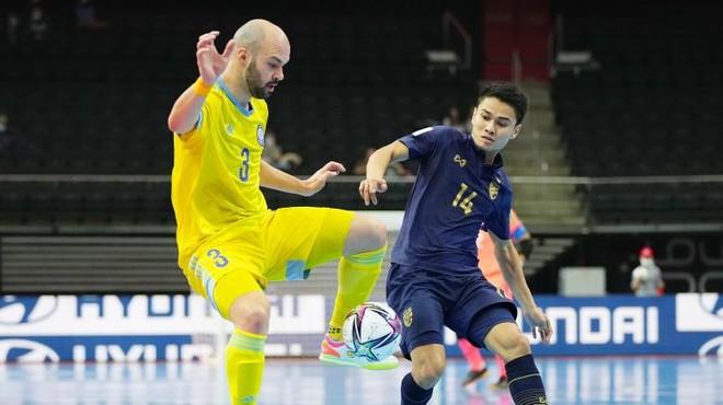 Futsal Thái Lan thua 0-7, bị loại khỏi World Cup ảnh 1