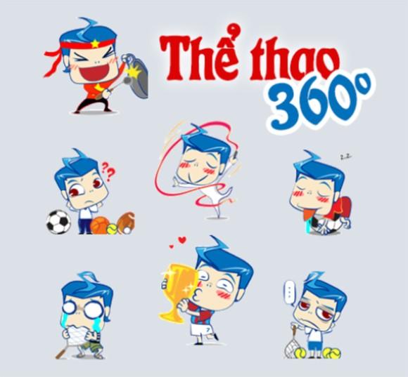 Sao Việt ngộ nghĩnh trong bộ sticker mới trên Zalo ảnh 3