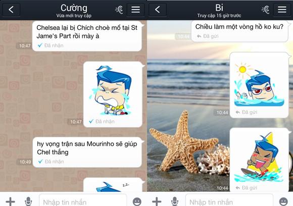 Sao Việt ngộ nghĩnh trong bộ sticker mới trên Zalo ảnh 4