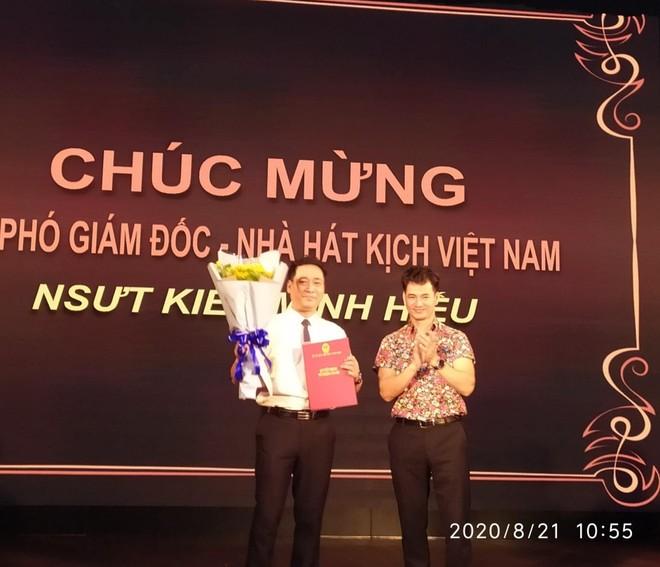 NSƯT Kiều Minh Hiếu giữ chức Phó Giám đốc Nhà hát Kịch Việt Nam ảnh 1